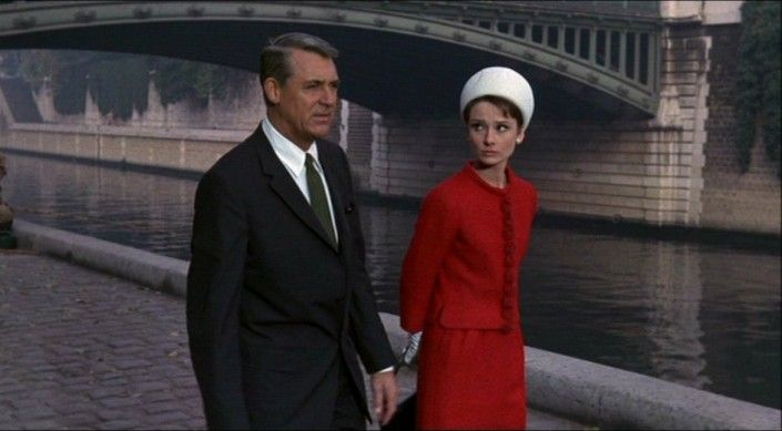 Charade 1963, Cary Grant, Audrey Hepburn, an absolute classic.