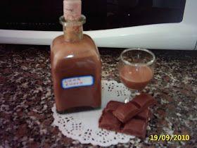 Cocina Con Nieves: Licor de chocolate