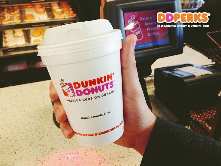 Want to earn rewards when you pay with an enrolled DD Card or the Dunkin' App? Click pin to join DD Perks Rewards!