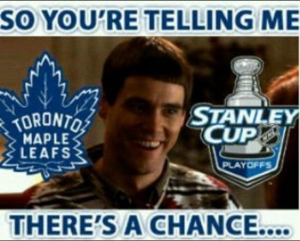 Every Leafs fan every year