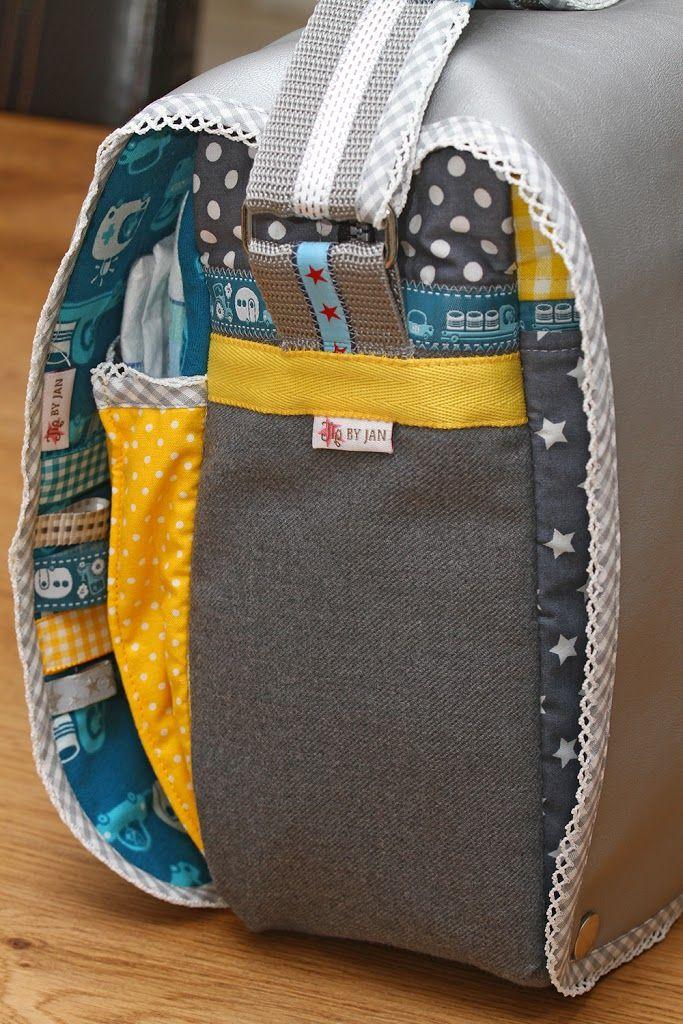 Luiertas klaar!   Diaperbag is ready! - Jip by Jan