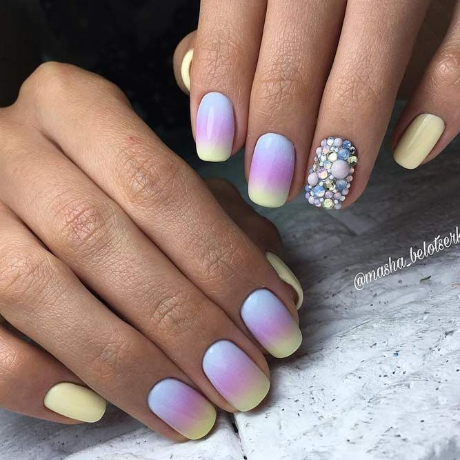 How To Do Ombre Nail Polish: Best 25+ Ombre Nail Art Ideas Only On Pinterest