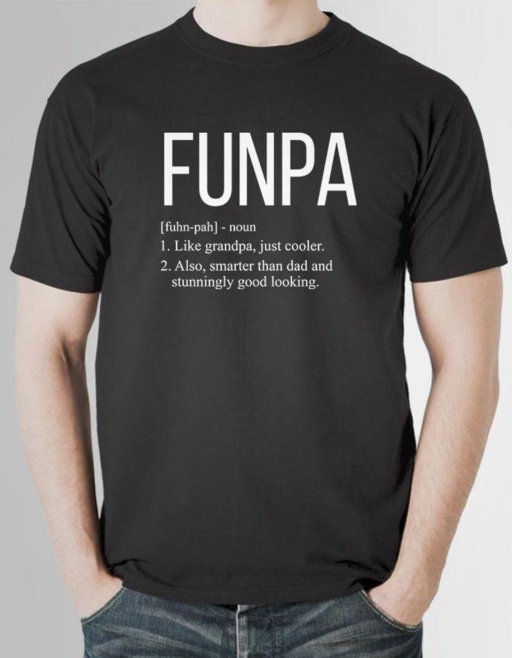 Funpa shirt grandpa gift from grandkids grandad gifts from