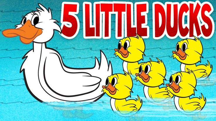 Five Little Ducks - Spring Songs for Children with Lyrics - The Learning Station