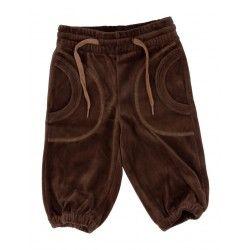 Katvig brune velour bukser