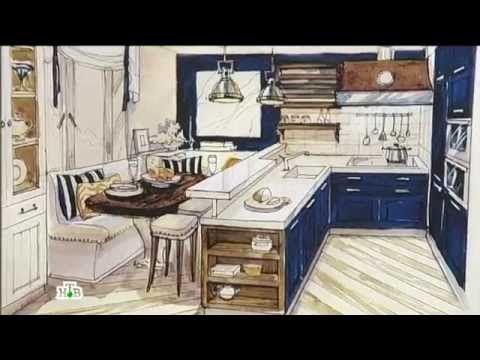 """""""Квартирный вопрос"""": Необычное пространство кухни и комнаты"""