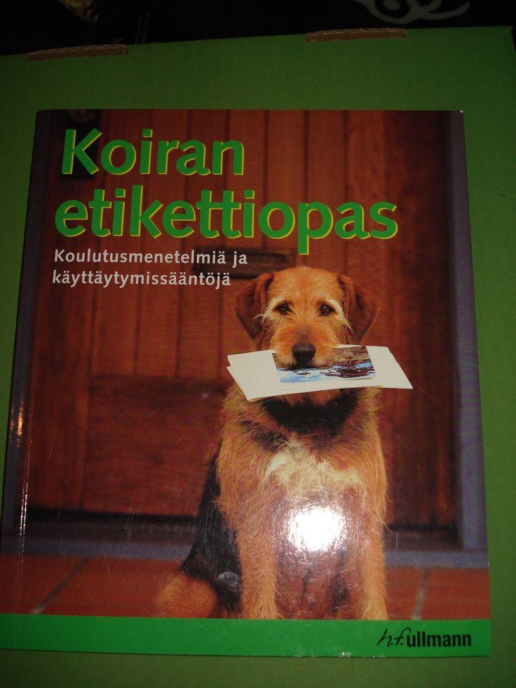 Koiran etikettiopas 3 euroa