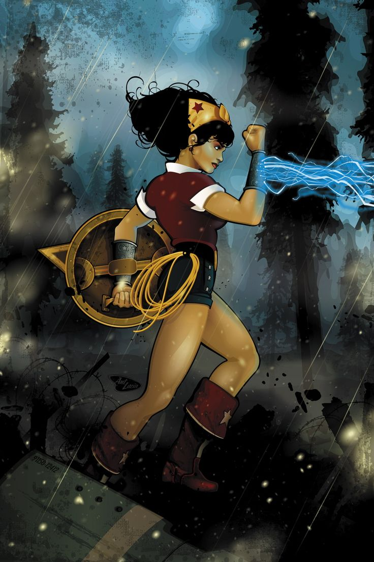 DC COMICS BOMBSHELLS #5 Written by MARGUERITE BENNETT Art by BILQUIS EVELY, LAURA BRAGA and MIRKA ANDOLFO Cover by ANT LUCIA