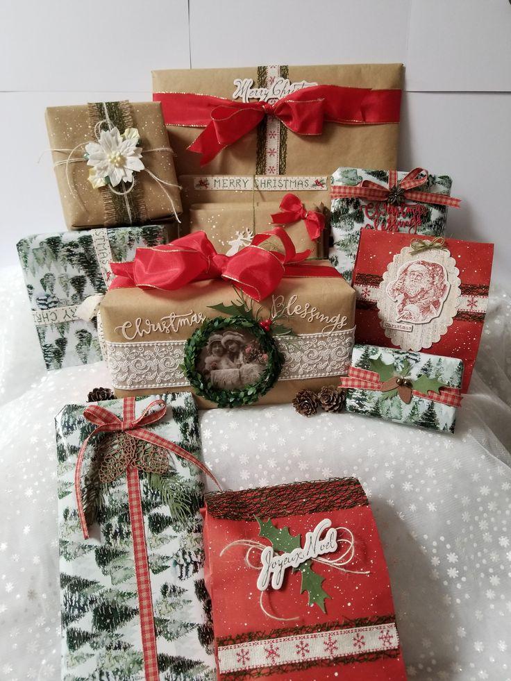 Secret Santa Christmas Swap - Scrapbook.com | Handmade ...