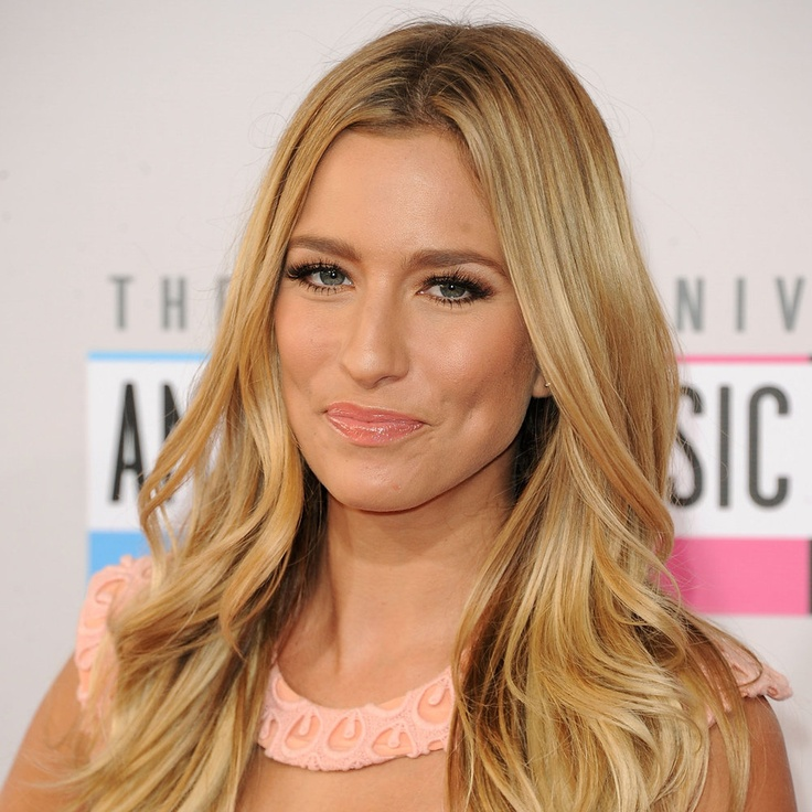 Perfect honey blonde ala Renee Bargh