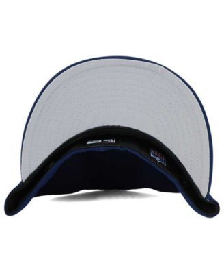 New Era Seattle Seahawks Team Basic Low Profile 59FIFTY Fitted Cap - Navy/Navy 6 7/8