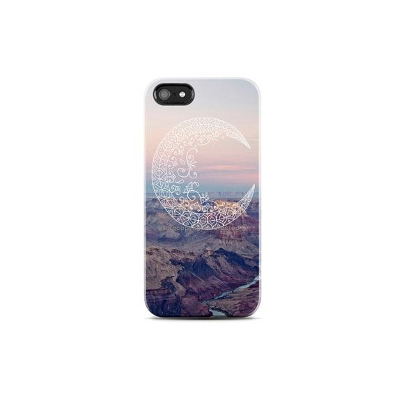 MOON iPhone 5 case Protective iPhone 4 Case Tribal by casesbycsera, $19.99