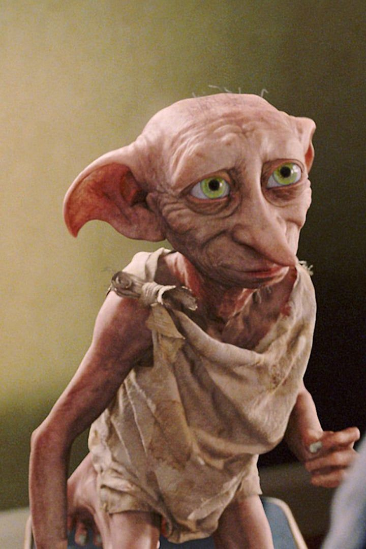 9 Dobby The Elf Played By Toby Jones Harry Potter Love Harry Potter Facts Harry Potter Books