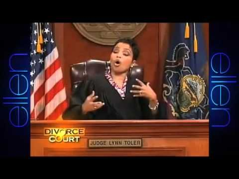 """Divorce Court spoof  """"If she would have gotten any madder she could of made an album."""" hehe"""