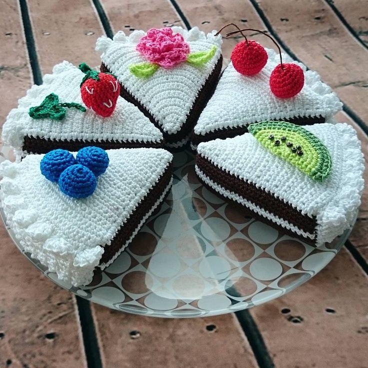#торт #вязаныйторт #вязанаяеда #crochet #crochetlove #amigurumi #weamiguru #заказ #люблювязать