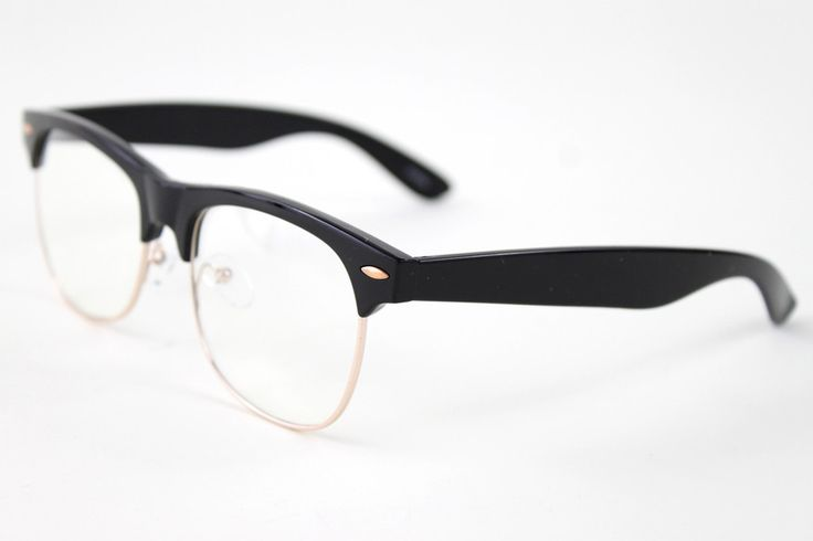 I love these glasses frames.  They're only $18 and you can take them to your eye doctor to get real lenses put in.
