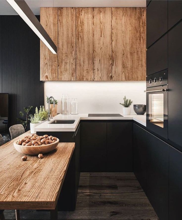 Minimalistic kitchen inspiration #interiordesign #kitchen
