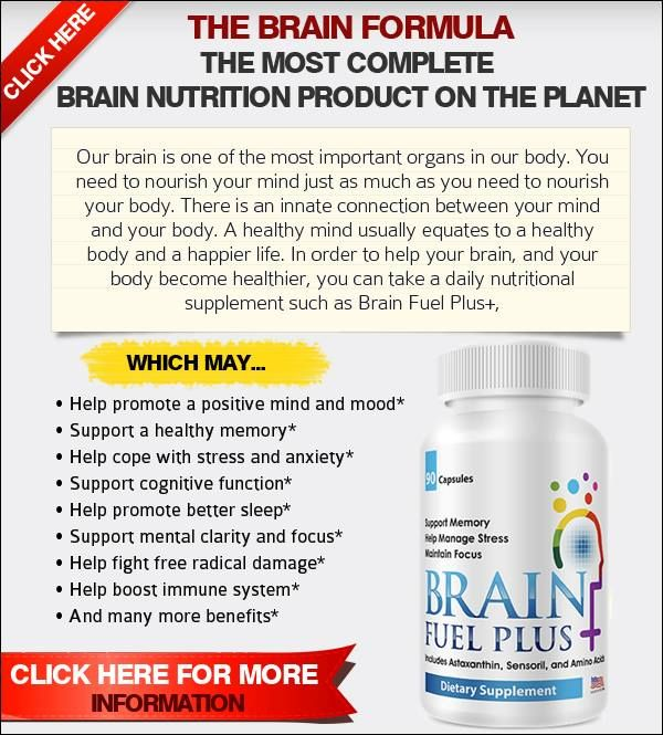 It is estimated that as many as 80% of people around the world have some form of neurological challenge; whether it's something small like the inability to stay focused for long periods of time, something more serious like always feeling stressed out, anxious, depressed, or not able to sleep, or something much more severe like dementia or alzheimers. Whatever it is, Brain Fuel PLUS may be able to help!