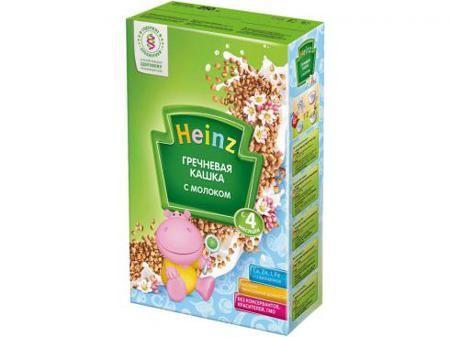 Каша Heinz молочная Гречневая с 4 мес. 250 гр.  — 122р. --------