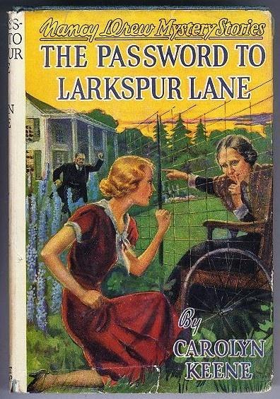 The Password to Larkspur Lane – Nancy Drew – HC DJ   eBay