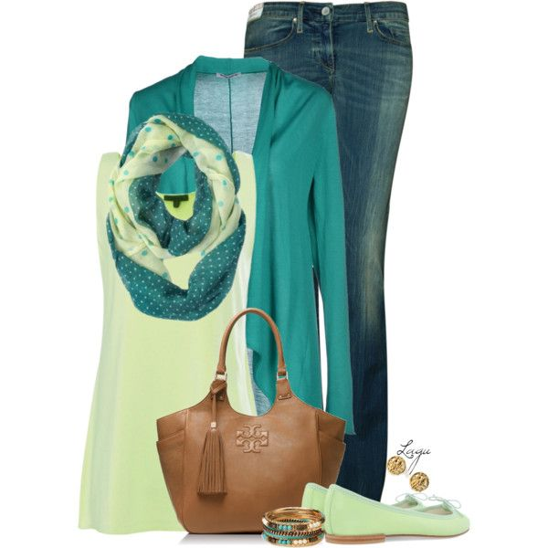 """""""Spring Green"""" by lagu on Polyvore"""