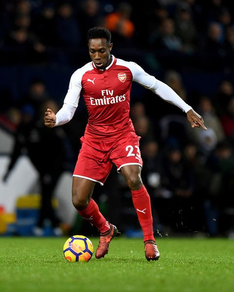 Danny Welbeck of Arsenal during the Premier League match between West Bromwich Albion and Arsenal at The Hawthorns on December 31, 2017 in West Bromwich, England.