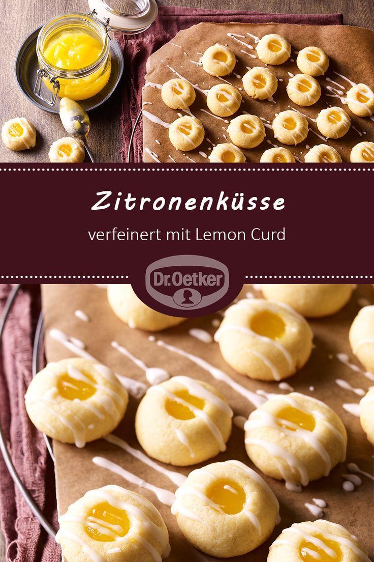Zitronenküsse: Teigplätzchen kneten Mit Zitronenquark verfeinert #Advent #Kaffee …   – Rezepte: Weihnachten | Plätzchen & Kekse