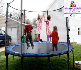 TRAMPOLINES FOR HIRE IN UGANDA OF ALL SIZES