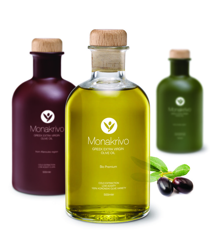 Monakrivo Extra Olive Oil — The Dieline - Package Design Resource