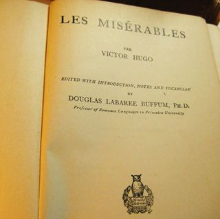 an analysis of les miserables a book by victor hugo Plot analysis - analysis, les misérables  the final lines of the book tell us that valjean ends up buried in  les misérables by victor hugo- summary, themes.