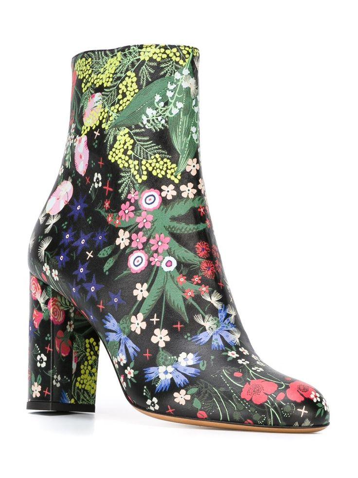 Valentino Garavani 'camu Garden' Stiefel - A.m.r. - Farfetch.com