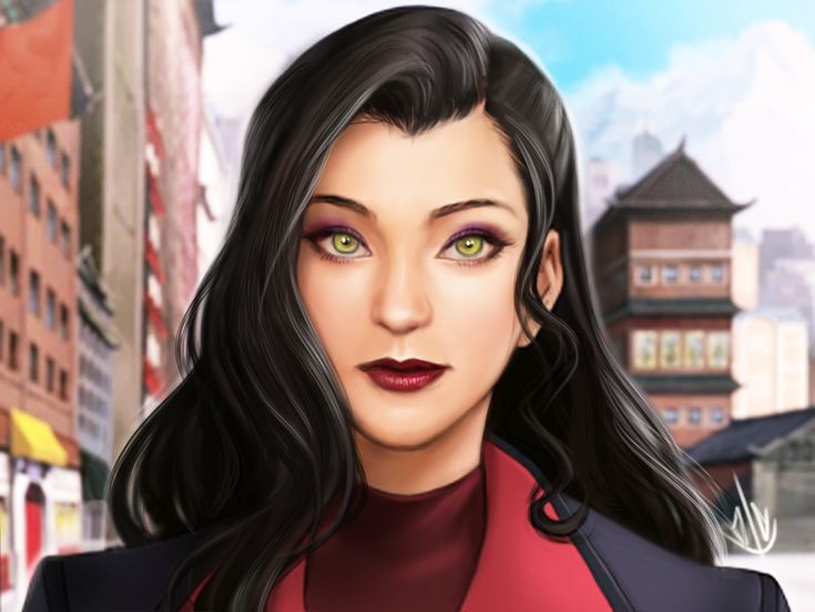 The ever so lovely Asami Sato~ <3 My LOK waifu LOK still paint over. I based her likeness a little bit from her voice actress, Seychelle Gabriel (who is surprisingly the Moon Princess Yue of the...