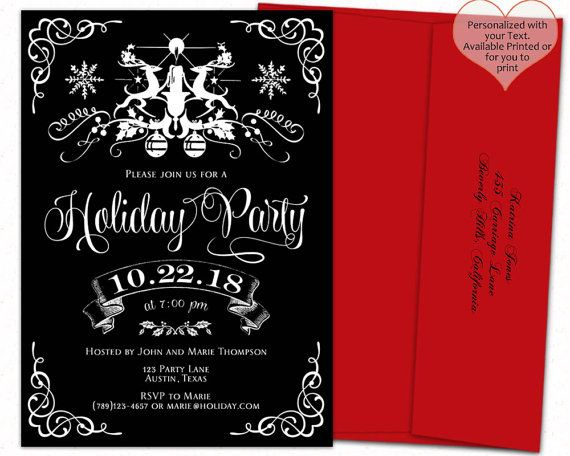 182 Best Christmas\/Holiday Party Essentials Images On Pinterest   Office  Party Invitation Templates  Office Party Invitation Templates