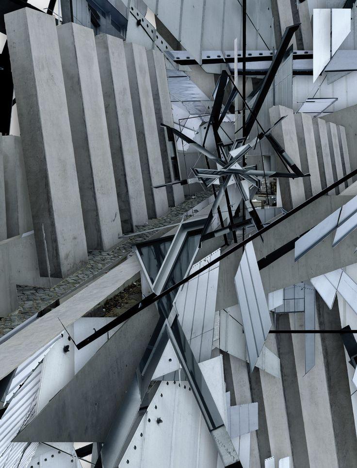 building:Jüdisches Museumsource images by Klaus Frahm  architect:Daniel Libeskind