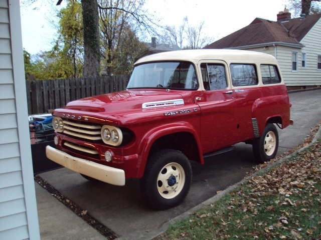 1958 Dodge Power Wagon Town Wagon