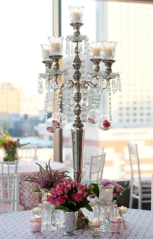 17 Best Images About Silver Candelabra With Hurricane Glass On Pinterest