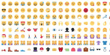 Emoticons Teclado Completo { Separados por Categorias }
