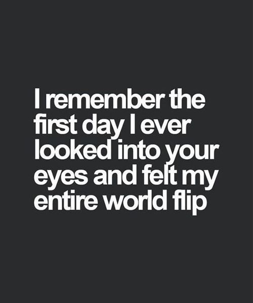 I Ever Looked Into Your Eyes – Romantic Love Quote