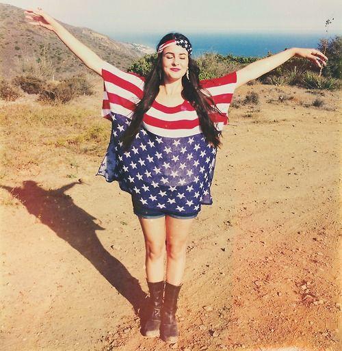 Lisa Cimorelli 2014 American Flag Dress