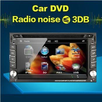 2017 Newest 2 Din 100% Universal Car Dvd Player Pc Gps Navigation Stereo Video Multimedia CDC automotivo SWC audio  Radio dual