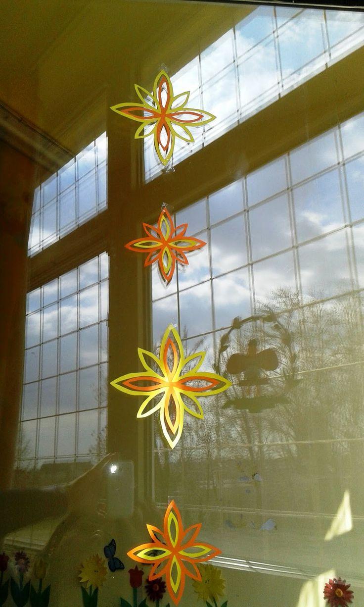 Ablakom: Elkészültek a tavaszi dekorációk