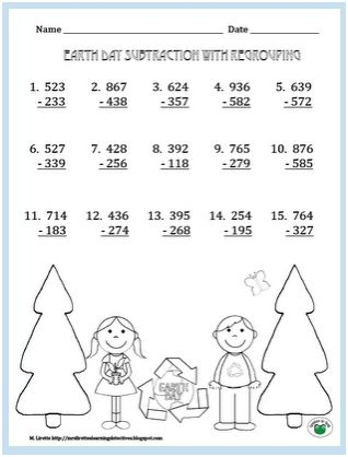 1000+ images about Math - Addition and Subtraction With Regrouping ...
