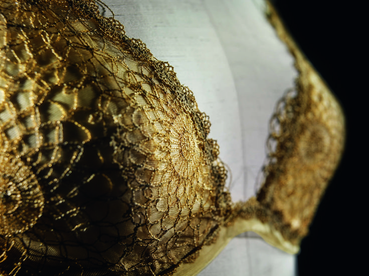 The La Perla Filigrane bra, one of the three collections available with the exclusive Made to Measure service.