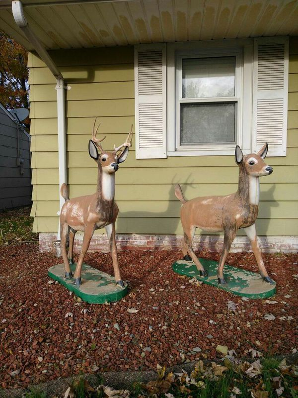 Concrete Lawn Statues For Sale In Parma Oh Offerup Statues For Sale Statue Deer