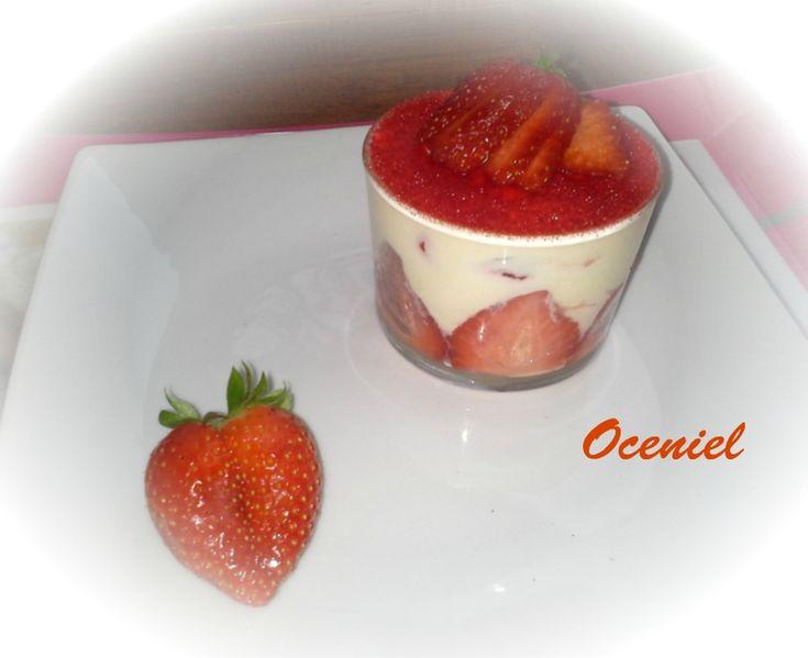 Tiramisu à la fraise (recette de Christophe Felder)