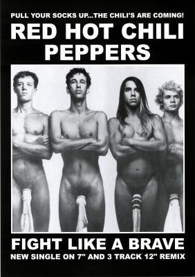 Red Hot Chili Peppers - Way before I started liking them but this picture has the original line-up.  RIP Hillel Slovak