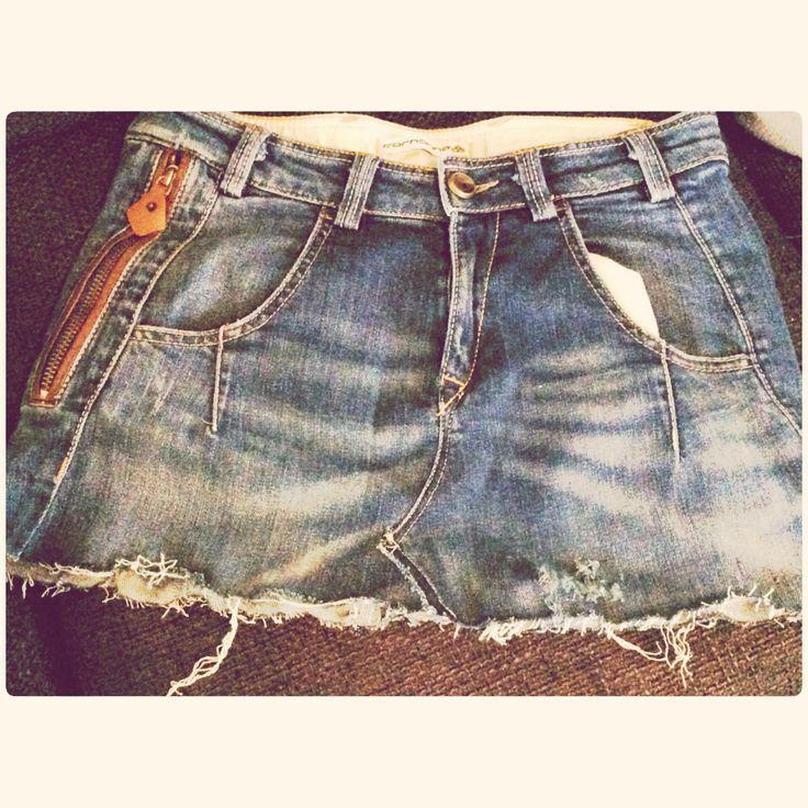 Rokje gemaakt van een oude jeans ✏️✂️