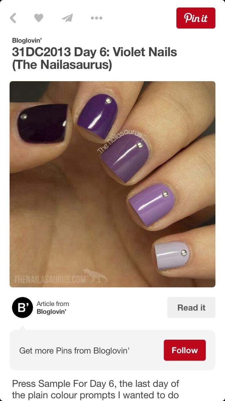 50 besten Nail art & designs Bilder auf Pinterest | Nagelkunst ...