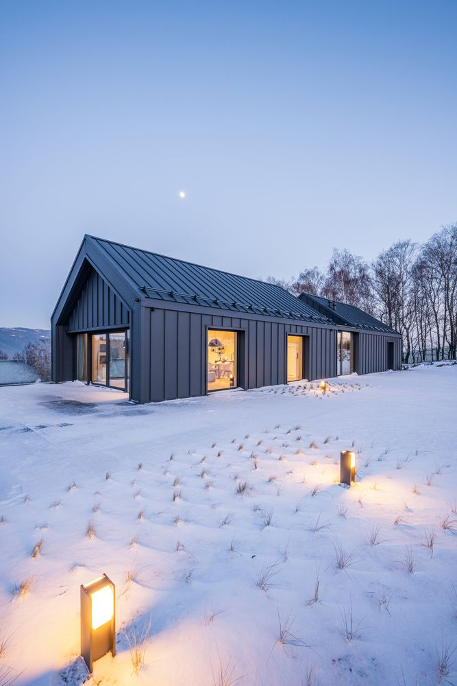 Gallery Of House In The Mountains Kropka Studio 2 In 2020 Mountain Home Exterior Scandinavian Modern House Barn Style House