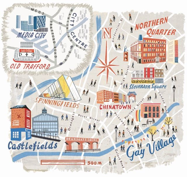 Manchester map - Anna Simmons